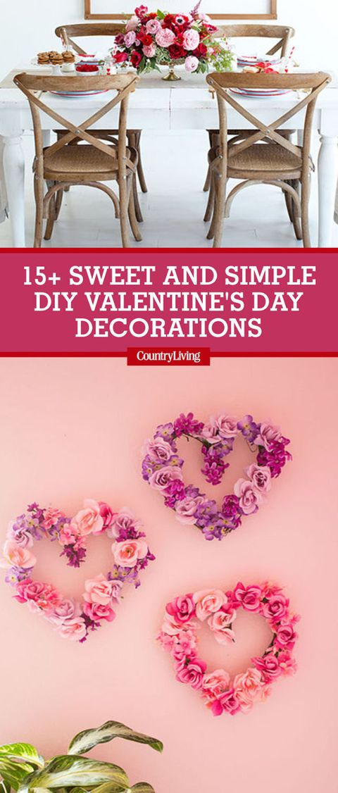 18 sweet and simple diy valentines day decorations valentine decor save these ideas save these valentines day decoration solutioingenieria