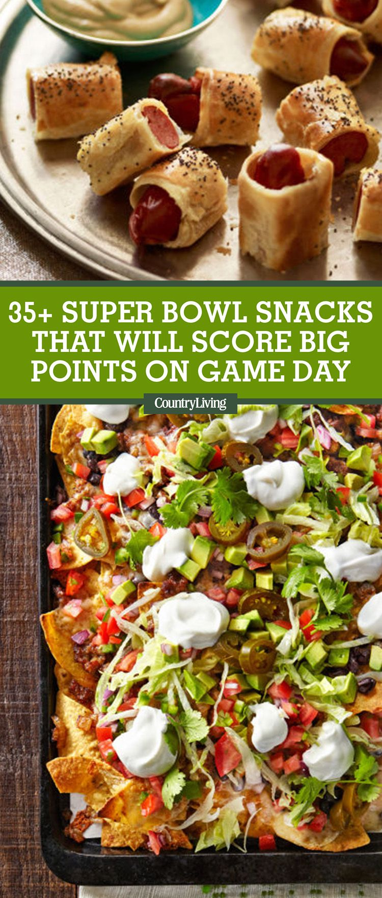 Super Bowl Snacks recommendations