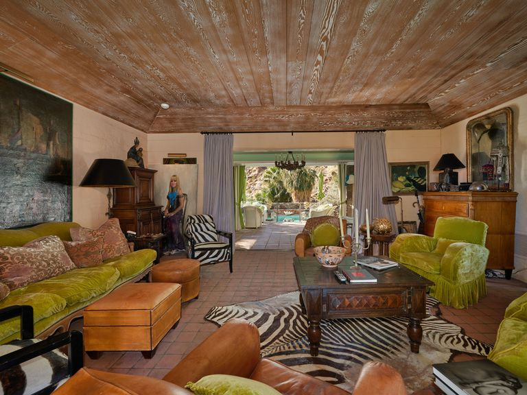 Inside Suzanne Somers S Palm Springs Mansion That Nobody
