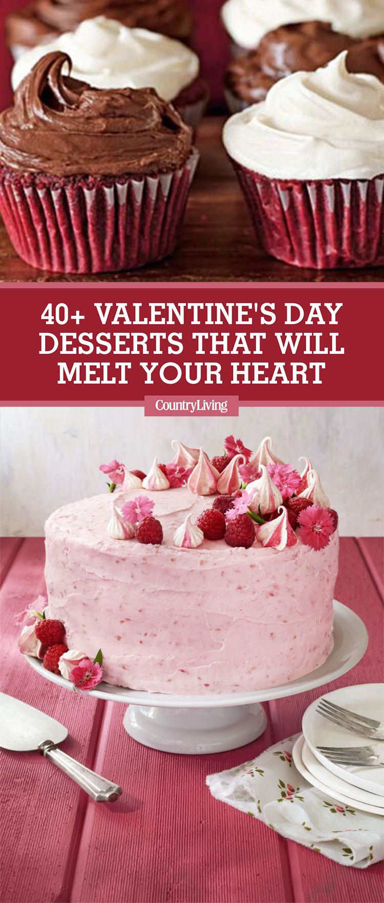 42 Easy Valentineu0027s Day Desserts   Best Recipes For Valentines Day Sweets