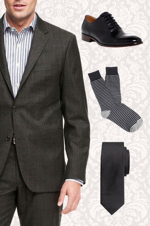 mens funeral outfit