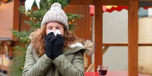Flu season in winter