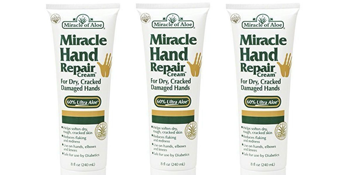 miracle of aloe s miracle hand repair best cream for dry hands. Black Bedroom Furniture Sets. Home Design Ideas