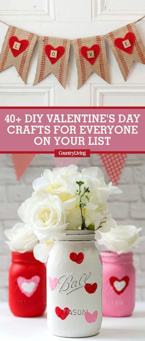 42 Valentine\'s Day Crafts and DIY Ideas - Best Ideas for Valentine\'s ...