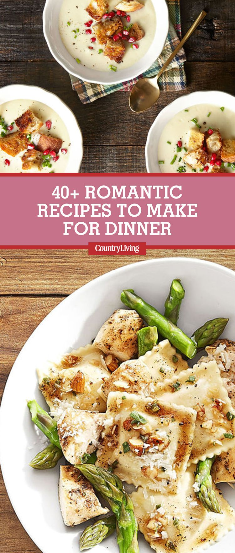 Superior Romantic Dinner Ideas Part - 3: Country Living Magazine