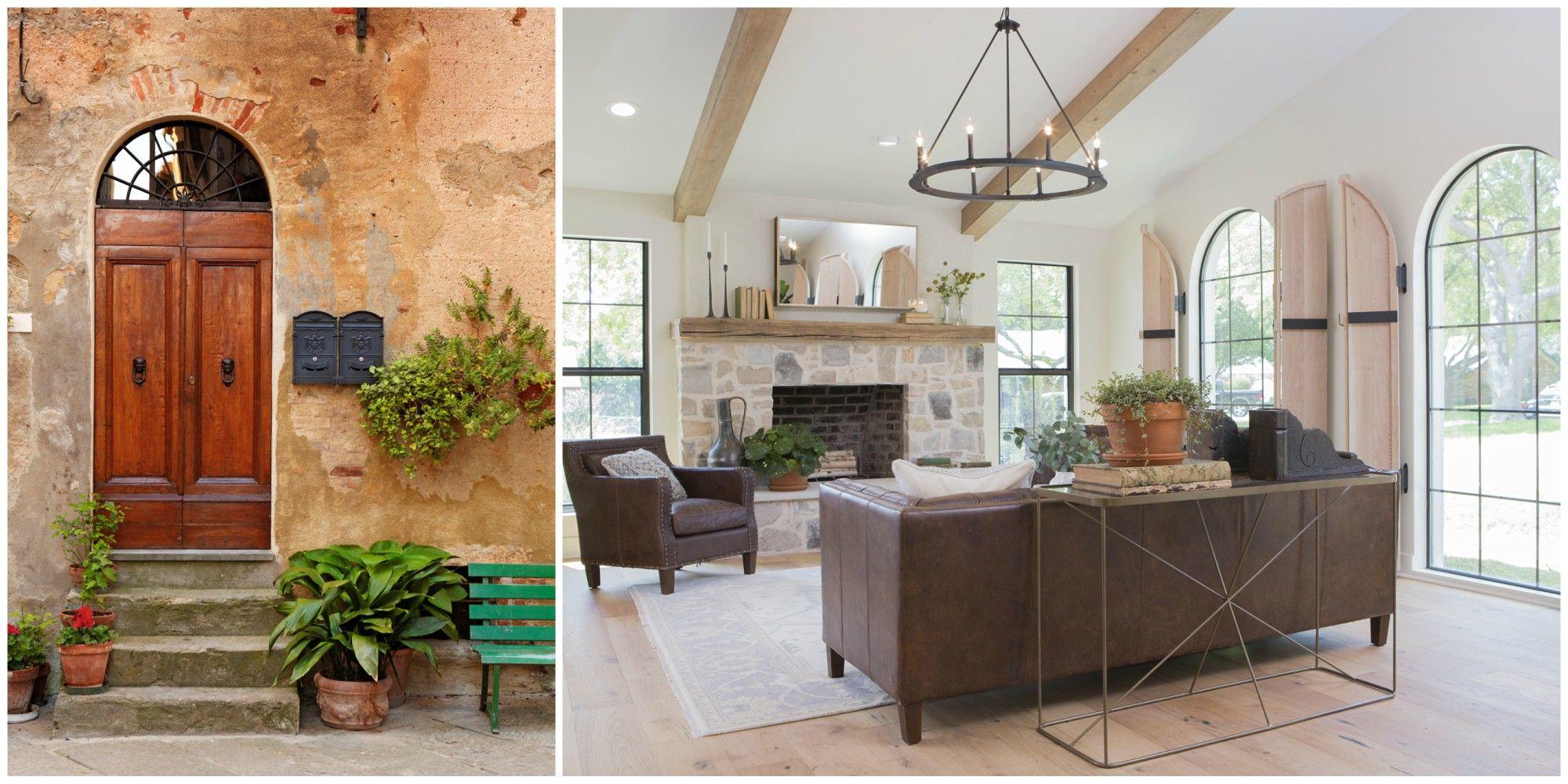 Modern mediterranean home decor trend joanna gaines popularizes moditerranean style on fixer upper