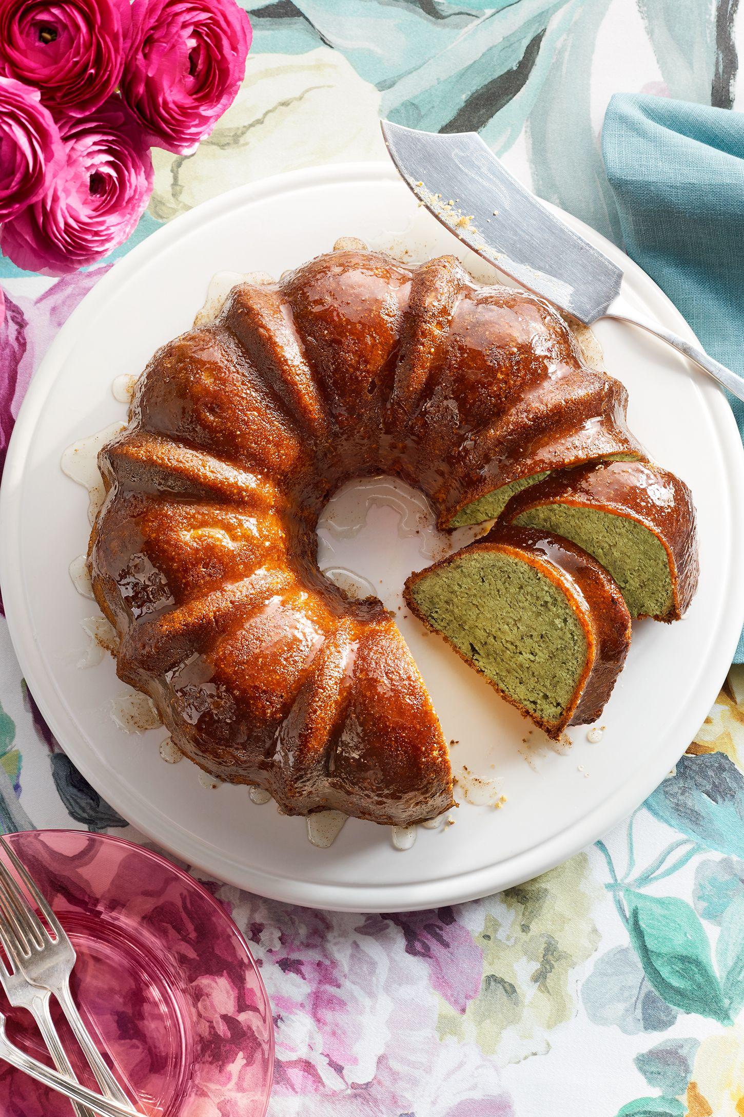 pistachio lemon bundt cake