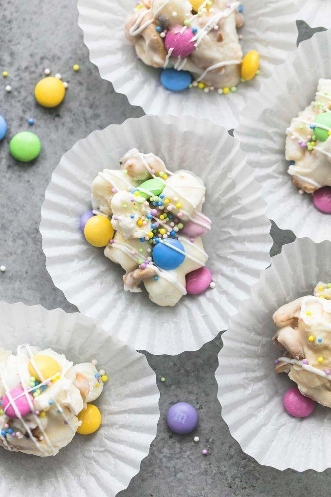 easter crockpot confetti candy