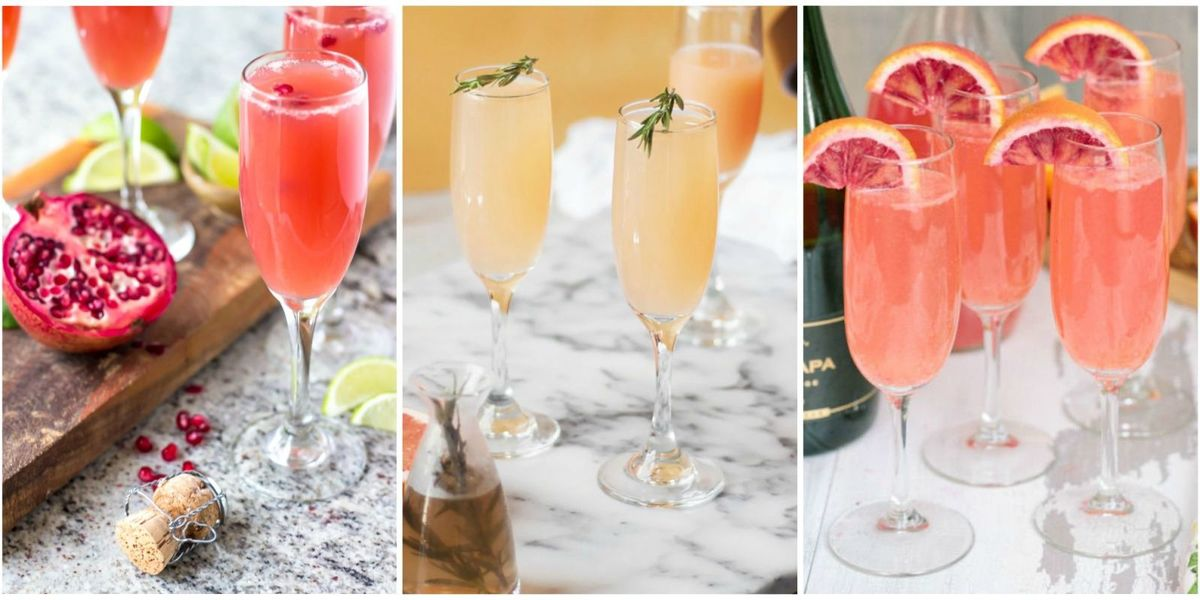 31 fruity mimosa recipes for your best brunch ever mimosa recipe