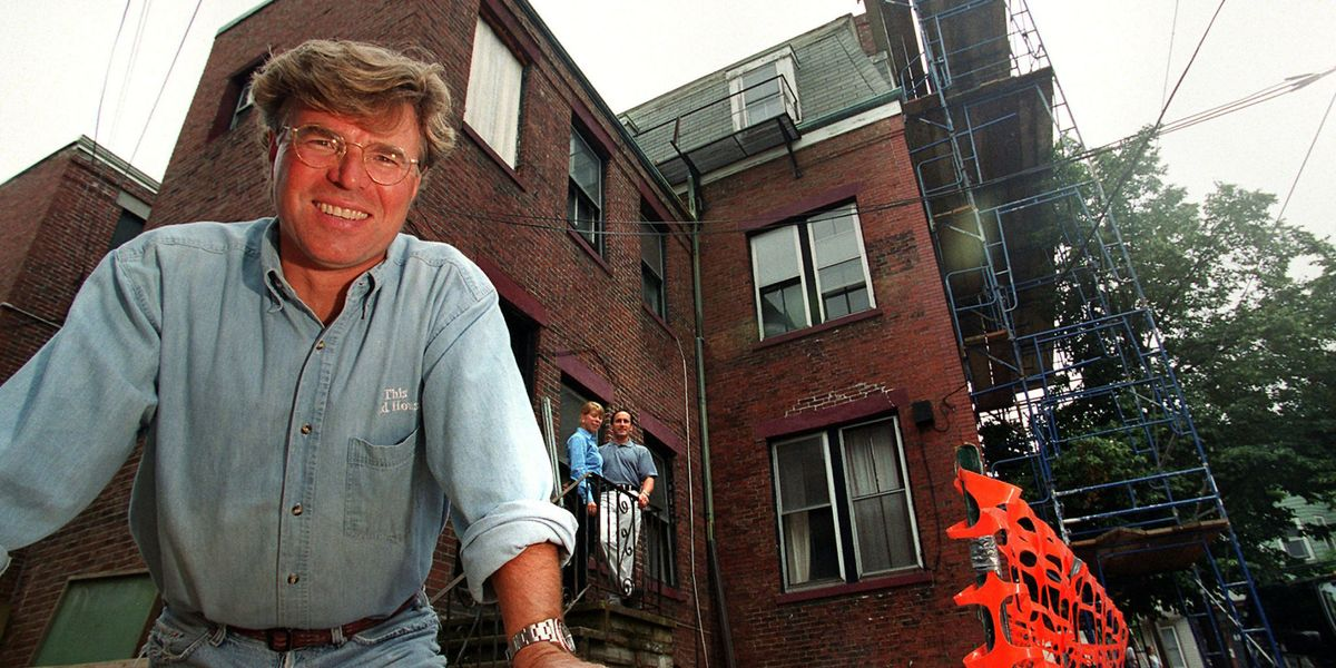 'This Old House' Launched Home Improvement Television As We Know It