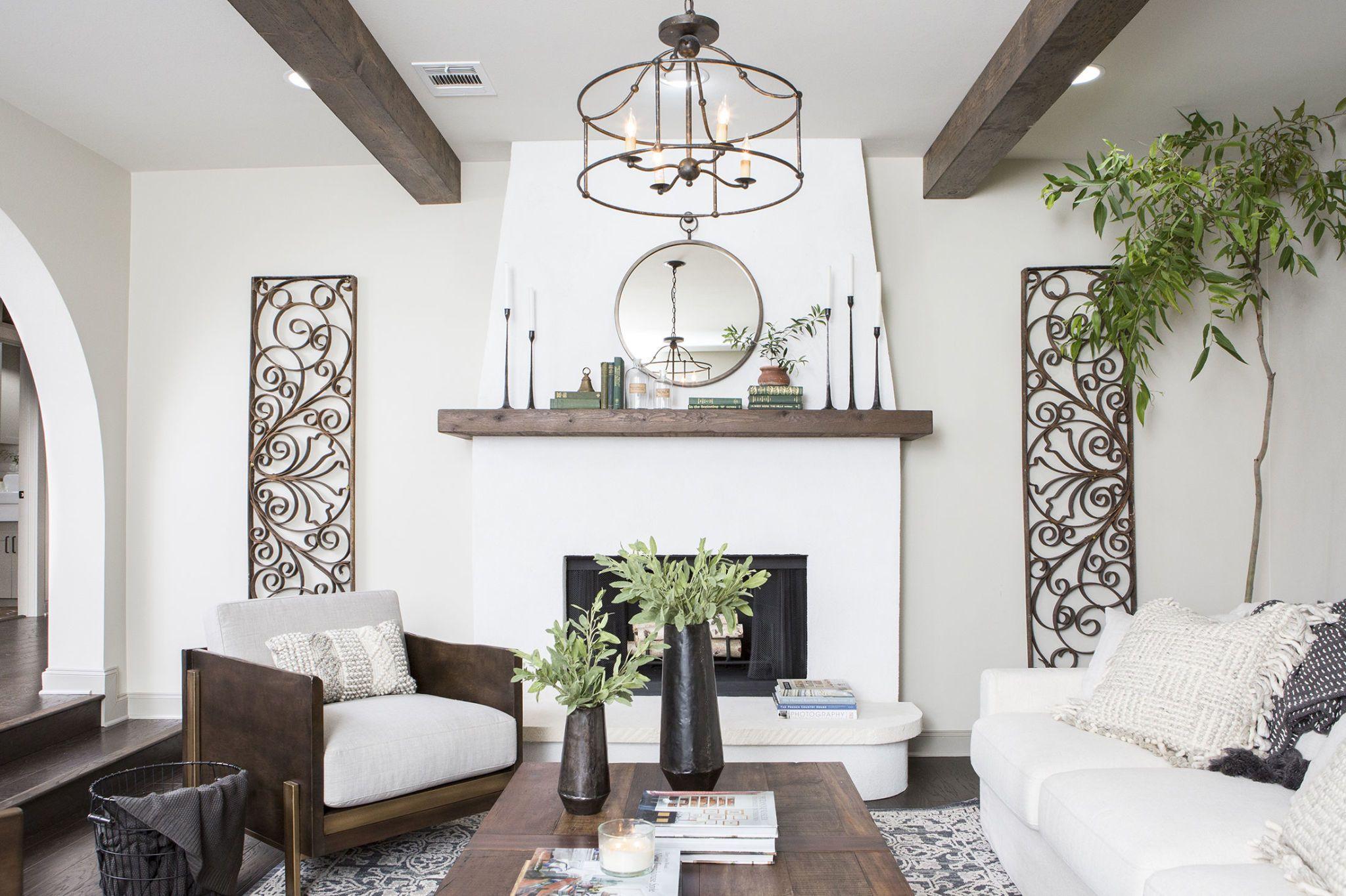 Elegant enchantment in modern mediterranean design dig - Modern mediterranean interior design ...