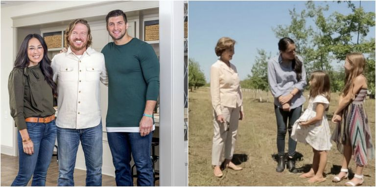 laura bush to appear in episode of 39 fixer upper 39 with chip and joanna gaines. Black Bedroom Furniture Sets. Home Design Ideas
