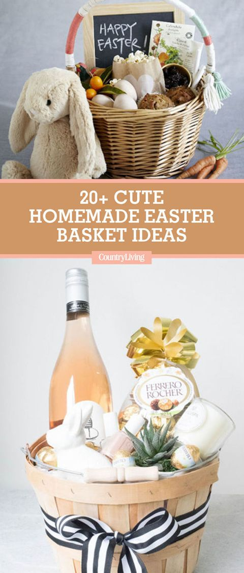 21 cute homemade easter basket ideas easter gifts for kids and adults save these ideas save these homemade easter basket negle Gallery