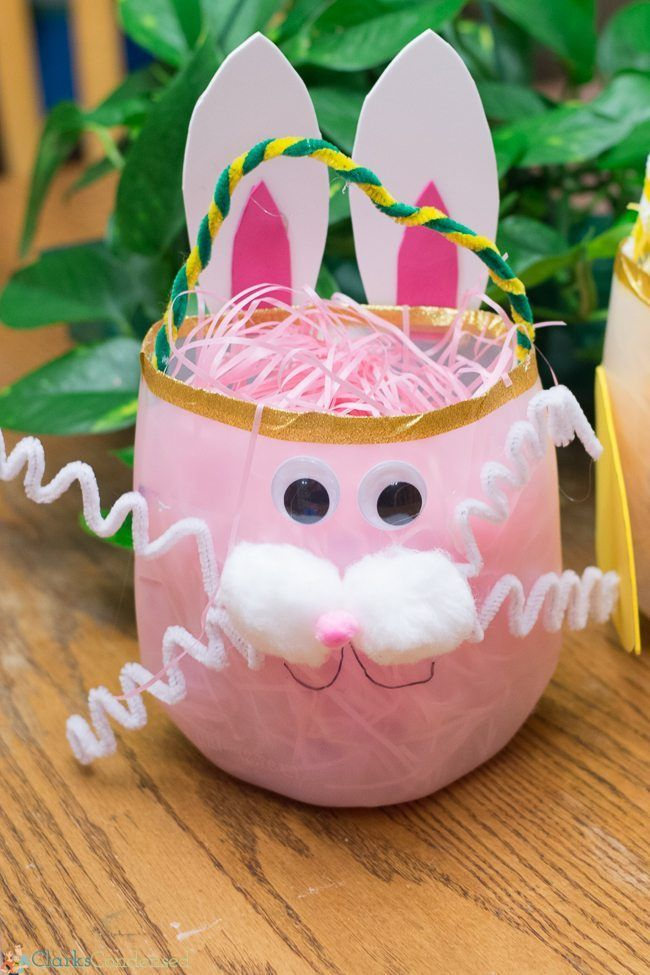 21 cute homemade easter basket ideas easter gifts for kids and adults negle Gallery