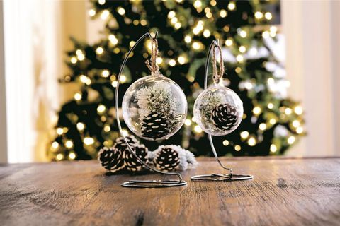 image courtesy of michaels pinecone snap ornament - How To Decorate Pine Cones For Christmas Ornaments
