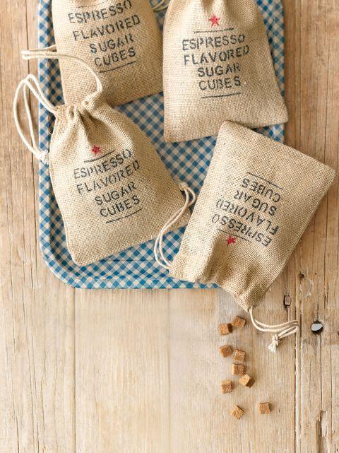 espresso flavored sugar cubes