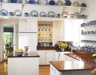Cornish Ware Inspired Decorating