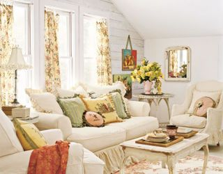 soft white couches and chairs