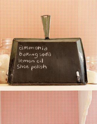 dustpan blackboard