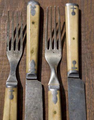 horn handled cutlery