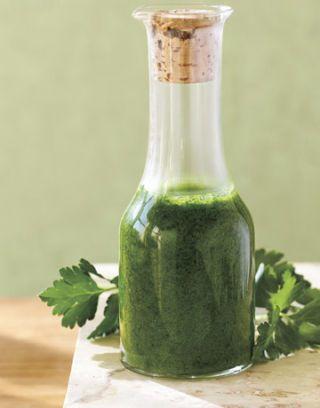 parsley vinaigrette