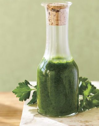 parsley vinaigrette