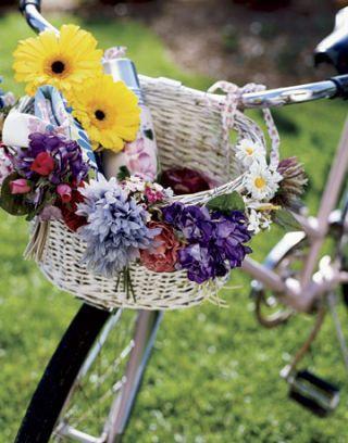 bike flower basket