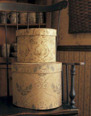 stacked bandboxes