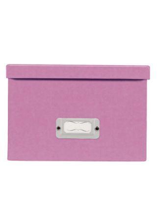 pink photo box