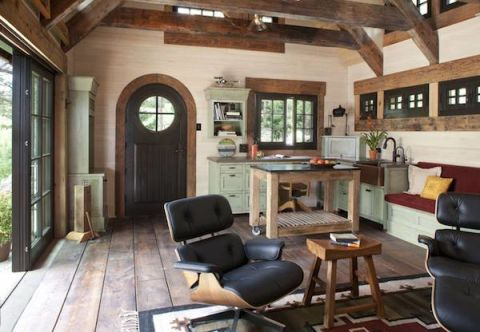 Look Inside This Tiny Mountain Home