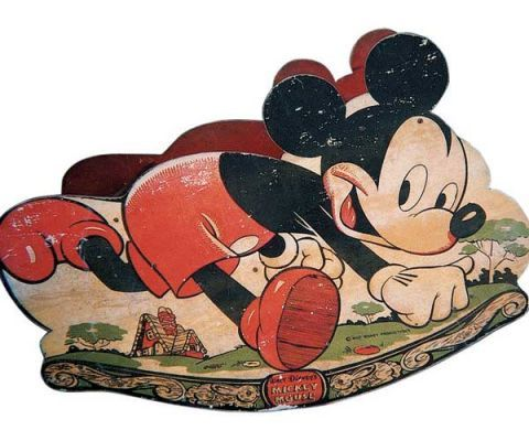 mickey mouse rocking horse