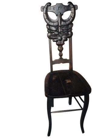 Mahogany Side Chair