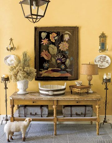 A Sunny Entryway with Special Details