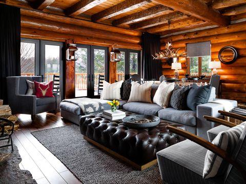 Log Cabin Makeover Ideas Colin And Justin S Cabin Pressure