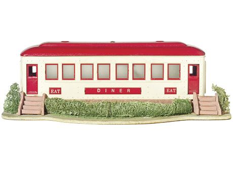 train car diner toy