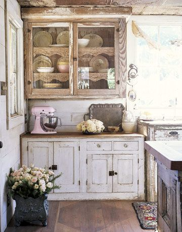 Genial 12 Shabby Chic Kitchen Ideas   Decor And Furniture For Shabby Chic Kitchens