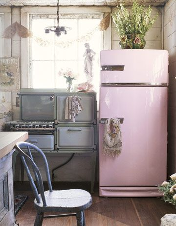 12 Shabby Chic Kitchen Ideas - Decor and Furniture for Shabby Chic ...