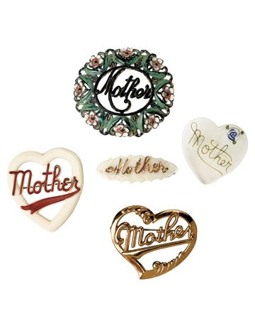 Five Examples of Mother Pins