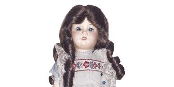 Early 20th-Century German Doll