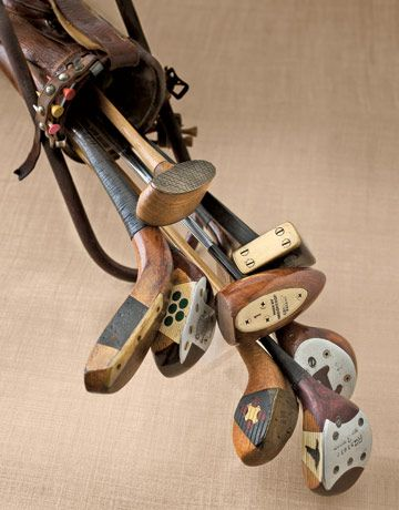 Dating antique golf clubs