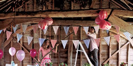 summer barn party