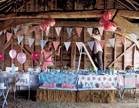 summer barn party