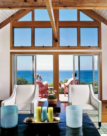 Candles and Armchairs Color Beach House