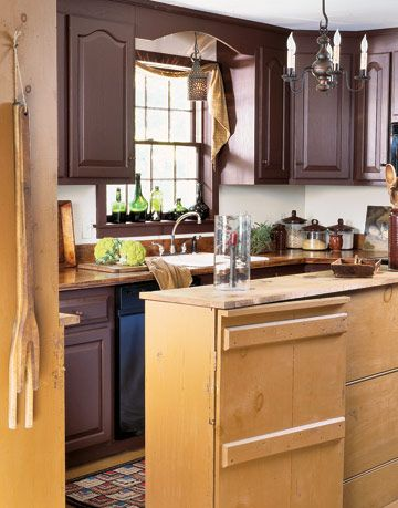 Colors Used In Colonial Kitchen Cabinets