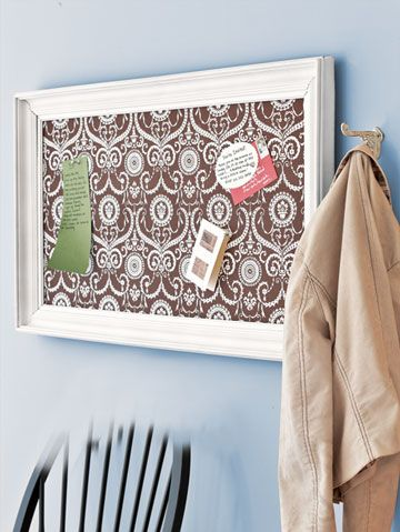 Magnetic Fabric Message Board