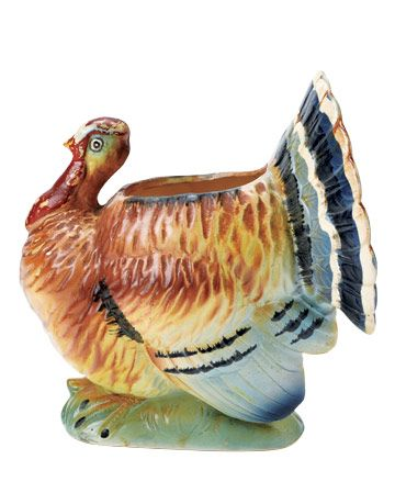 Excellent Thanksgiving Turkey Planters: What Is It? What Is It Worth? VX02