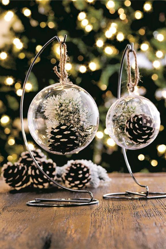pinecone decorations craft ornament