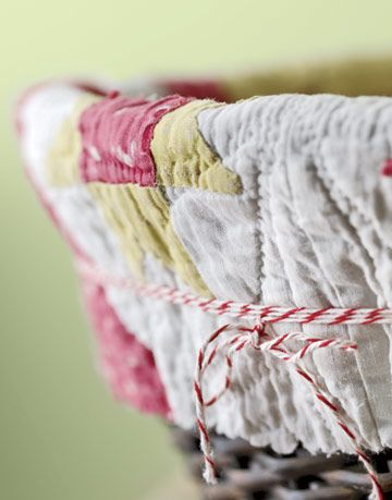string wrapped basket