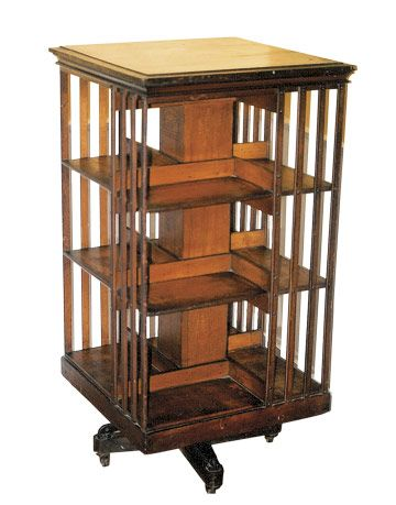 Revolving Bookcase What Is It What Is It Worth