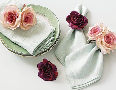 Floral napkin rings mightylinksfo